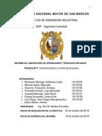 Informe 1.Instrumentación y Control de Procesos