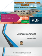 ALIMENTO ARTIFICIAL DE CAMARON