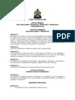 Constitución de la República de Honduras 1880