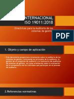 Norma Internacional Iso 19011 Auditorías de Calidad