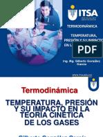 Temperatura Presión y Teoría Cinética de Los Gases