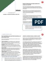 Noticias Financieras Primera Entrega 20192