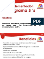 Implementacion presentacion 5s