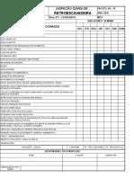 Checklist Inspeção Retroescavadeira