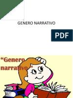 Genero Narrativo