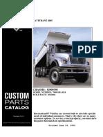 Manual de Partes de International 7600