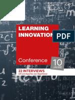 Stoller-Schai 2019 - 10 Jahre Learning Innovation Conference. 22 Interviews mit Lern-Experten und Lern-Expertinnen