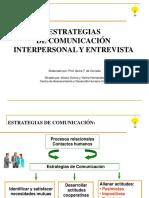 estrategia de comunicacion interpersonal