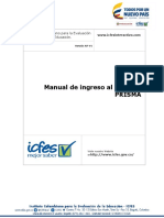 Manual de ingreso al sistema prisma