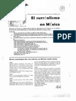 El Surrealismo en México (Prampolini, Pierre, Andrade)