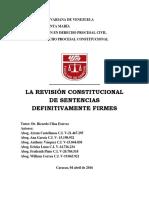 LA REVISIÓN CONSTITUCIONAL DE SENTENCIAS DEFINITIVAMENTE FIRMES.pdf
