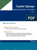 Sound Transit Signage Program Update