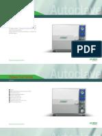 Poleax Plus(N Series)-Catalogue Sturdy Tabletop Autoclave 201807
