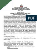 Edital PPGEO Final 2020