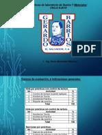 Pres P-1 y 2, Materiales 2019