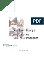 La Costanera Norte y El Barrio Los Moteros