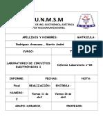 Informe 2 c.electronicos i Martin Rodriguez