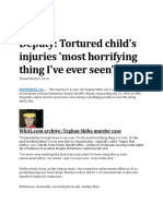 Child Abuse Cases