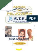 ASIGNATURA N°7 BASE CAPILAR CURSO PELUQUERIA INTENSIVO