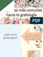 Preguntas mas frecuentes hacia la grafologia