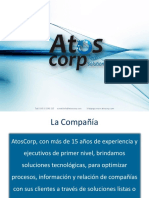 Presentacion Corporativa Atos