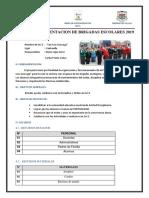 Plan de Brigadas Escolares 2019