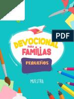 Muestra Devocional Para Familias Pequen Os He Roes