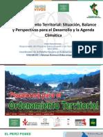 Análisis de la situación del ordenamiento territorial en el Perú