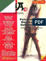 Revista Topía. Psicoanalisis, Represion y Subjetividad