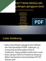 Presentasi  P2 ( PENYAKIT TIDAK MENULAR) kelompok 2.pptx