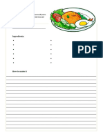 Worksheet Friedrice