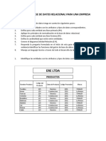 Diseñar Una Base de Datos Relacional Para Una Empresa