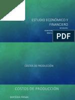 Estudio Económico y Financieroo