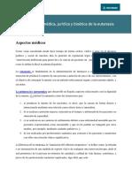 Valoracion Medica Juridica y Bioetica De