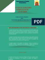 Gestion de Los Almacenes Farmaceuticos