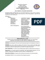 Gpta Resolution No. 2