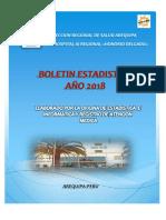 Boletin Estadistico Hospital Regional Honorio Delgado