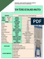 Ficha Balanza Aalitica