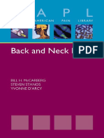 (Oxford American Pain Library) McCarberg, Bill H._ Stanos, Steven_ D'Arcy, Yvonne M - Back and Neck Pain-Oxford University Press (2012)
