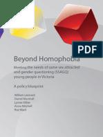 Beyond Homophobia Report