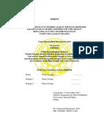 Contoh Pengesahan Skripsi FKIP UAD