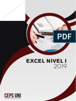 Manual Excel Nivel 1 - 2019