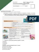 prueba de sintesis 2019 segundo semestre lenguaje 3°