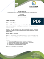 Agenda Académica - II FORO SOLDICOM