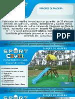 Catalogo Parque Infantil Madera