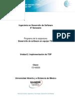 Unidad 2 Implementacion de TSP