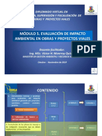 CLASES 3 Y 4 EVALUACION DE IMPACTO AMBIENTAL
