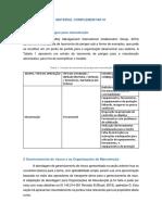 Material Complementar - Gerenciamento de Riscos Para Organizações de Manutenção - Versão Final
