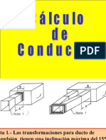Cálculo de ductos