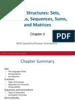 Chapter 2 - Discrete Math